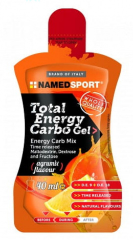 ŻEL NAMEDSPORT TOTAL ENERGY CARBO 40 ML
